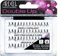 Парфюмерия и Козметика Мигли на снопчета - Ardell Double Up Duralash Knot-Free Double Flares Medium Black