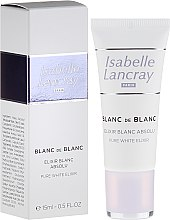 Парфюмерия и Козметика Изсветляващ серум за лице - Isabelle Lancray Blanc De Blanc Pure White Elixir
