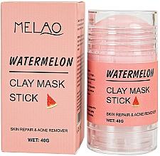 Парфюмерия и Козметика Стик глинена маска за лице с диня - Melao Watermelon Clay Mask Stick