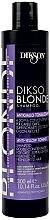 Парфюмерия и Козметика Тониращ шампоан против жълти оттенъци - Dikson Dikso Blonde Anti-Yellow Toning Shampoo