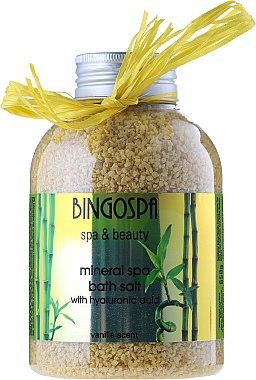 Соли за джакузи с аромат на ванилия - BingoSpa