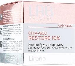 Парфюми, Парфюмерия, козметика Дневен възстановяващ и подхранващ крем за лице - Lirene Lab Therapy Nourishment Chia-Goji Skin 10%