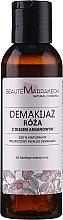 """Парфюмерия и Козметика Натурален продукт за почистване и премахване на грим """"Роза"""" - Beaute Marrakech Natural Two-phase Make-up Remover Rose"""