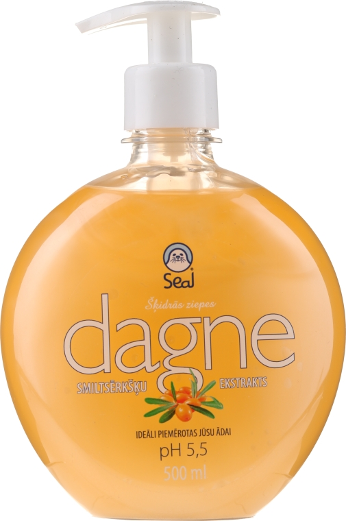 Течен сапун с облепиха - Seal Cosmetics Dagne Liquid Soap — снимка N1