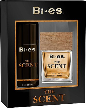 Bi-es The Scent Man - Комплект (тоал. вода/100ml + део/150ml) — снимка N1