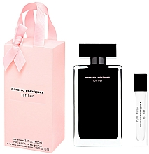 Парфюмерия и Козметика Narciso Rodriguez For Her - Комплект (тоал. вода/100ml + тоал. вода/мини/10ml)