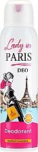 Парфюмерия и Козметика Дезодорант спрей - Lady In Paris Deodorant
