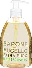 Парфюмерия и Козметика Течен сапун с мента и розмарин - Officina Del Mugello Liquid Soap Mint And Rosemary