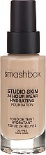 Парфюмерия и Козметика Smashbox Studio Skin 24 Hour Wear Hydrating Foundation - Фон дьо тен