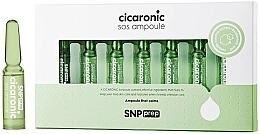 Парфюмерия и Козметика Успокояващи ампули за лице - SNP Prep Cicaronic SOS Ampoule