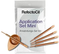 Парфюмерия и Козметика Комплект за боядисване на мигли и вежди - RefectoCil Application Set Mini Rose Gold (5 бр.)
