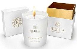 Парфюми, Парфюмерия, козметика Ароматна свещ - Herla Inner Strength Candle