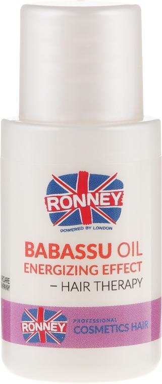 Масло от бабасу за коса - Ronney Babassu Oil Energizing Effect Hair Therapy — снимка N2