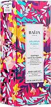 Парфюмерия и Козметика Комплект - Baija Delirium Floral (крем/75ml + душ гел/100ml + скраб/60g)