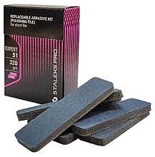 Парфюми, Парфюмерия, козметика Комплект сменяеми листчета за пиличка за нокти, DFE-51-100 - Staleks Pro (10 бр)