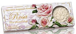 Парфюми, Парфюмерия, козметика Комплект натурални сапуни с аромат на роза - Saponificio Artigianale Fiorentino Rosa Scented Soaps (soap/3pcsx125g)