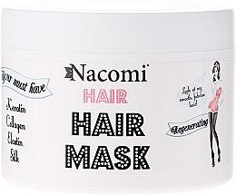 Парфюми, Парфюмерия, козметика Регенерираща маска за коса - Nacomi Regenerating Hair Mask