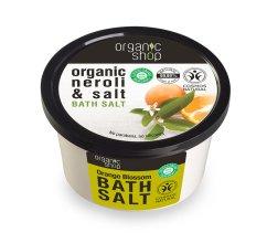 """Парфюми, Парфюмерия, козметика Соли за вана """"Портокал"""" - Organic Shop Baths Salt Organic Neroli & Salt"""