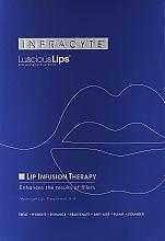Парфюмерия и Козметика Хидрогел маска за устни - Infracyte Luscious Lips Anti-Aging Lip Treatment