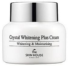 Парфюмерия и Козметика Изсветляващ крем против пигментация - The Skin House Crystal Whitening Plus Cream