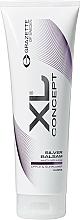 Парфюмерия и Козметика Балсам против жълти оттенъци за светла и сива коса - Grazette XL Concept Silver Balsam