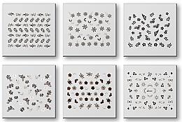 Парфюмерия и Козметика Комплект лепенки за нокти 42935 - Top Choice Nail Decorations Stickers Set