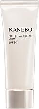 Парфюми, Парфюмерия, козметика Лек дневен крем за лице - Kanebo Fresh Day Cream Light SPF30