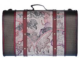 Парфюмерия и Козметика Козметичен куфар, голям размер - Dear Barber