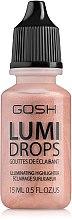 Парфюми, Парфюмерия, козметика Хайлайтър за лице - Gosh Lumi Drops Highlighter