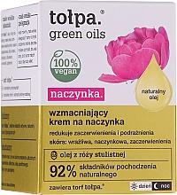 Парфюмерия и Козметика Укрепващ крем за куперозна кожа - Tolpa Green Oils Cream