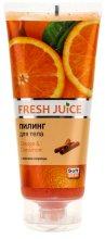 Парфюми, Парфюмерия, козметика Пилинг за тяло с екстракт от портокал и канела - Fresh Juice Orange & Cinnamon
