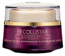 Парфюми, Парфюмерия, козметика Регенериращ околоочен крем - Collistar Magnifica Plus Replumping Regenerating Eye Cream SPF15 (тестер)