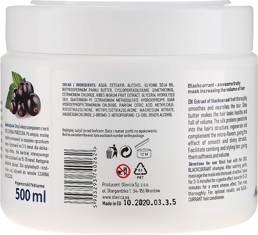 Маска за коса с екстракт от черен касис, копринен протеин и масло от шеа - Ovoc Czarna Porzeczka Mask — снимка N3