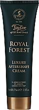 Парфюмерия и Козметика Taylor of Old Bond Street Royal Forest Aftershave Cream - Крем за след бръснене