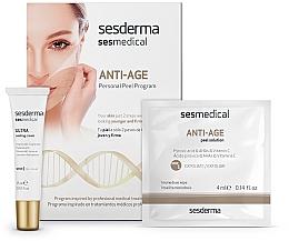 Парфюмерия и Козметика Антистарееща пилинг-програма за лице - Sesderma Sesmedical Anti-Age Personal Peel Program (крем/15ml + кърпички/4x4ml)