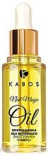 Парфюмерия и Козметика Регенериращо масло за нокти - Kabos Nail Magic Oil