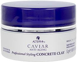 Парфюмерия и Козметика Стилизираща глина за коса - Alterna Caviar Anti Aging Styling Concrete Clay