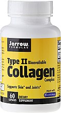 Парфюми, Парфюмерия, козметика Колаген комплекс тип 2 за кожа и стави - Jarrow Formulas Type II Collagen Complex, 500 мг