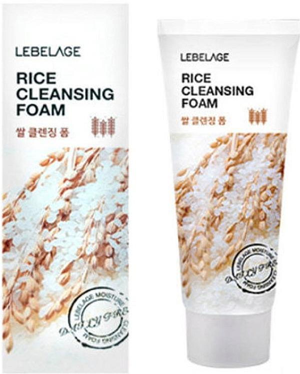 Почистваща пяна за лице с ориз - Lebelage Rice Cleansing Foam