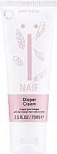 Парфюмерия и Козметика Детски крем против подсичане с масло от памучно семе - Naif Baby Diaper Cream