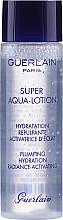 Комплект за лице - Guerlain Super Aqua Serum Set (серум/50ml + околоочен серум/5ml + маска/1бр + лосион/15ml) — снимка N9