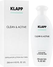 Парфюмерия и Козметика Ексфолиант за мазна кожа - Klapp Clean & Active Exfoliator Oily Skin