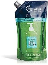 """Парфюми, Парфюмерия, козметика Шампоан за коса """"Чиста свежест"""" - L'Occitane Aromachologie Revitalising Fresh Shampoo (пълнител)"""