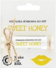 Парфюми, Парфюмерия, козметика Защитен балсам за устни - Make Me BIO Sweet Honey