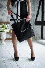 Черна чанта (38 х 39,5 х 8,7 см) - MakeUp  — снимка N2