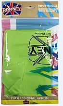 Парфюмерия и Козметика Фризьорска престилка , светло зелена - Ronney Professional Hairdressing Apron Light Green