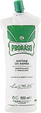 Крем за бръснене с ментол и евкалипт - Proraso Green Shaving Cream — снимка N6