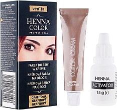Парфюмерия и Козметика Боя-крем за вежди - Venita Henna Color