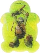 """Парфюмерия и Козметика Детска гъба за баня """"Костенурките Нинджа"""" Leonardo 5 - Suavipiel Turtles Bath Sponge"""