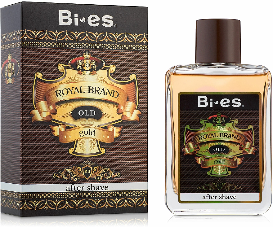 Bi-Es Royal Brand Gold - Афтършейв